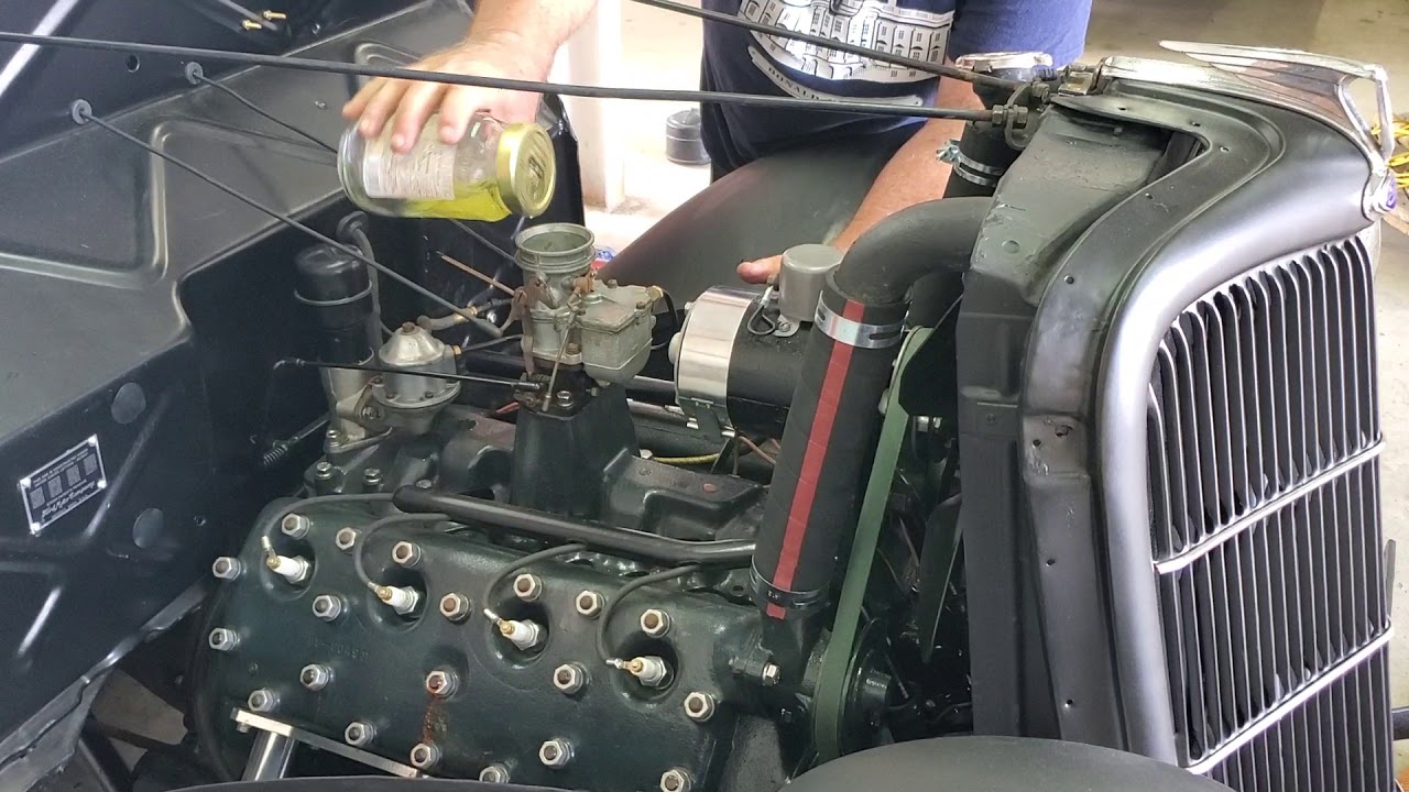 Repeat 1935 Ford Flathead V8 First Start by Tom d - You2Repeat