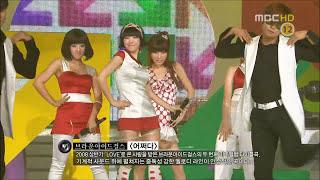 브아걸(Brown Eyed Girls) - 어쩌다(How come) 교차편집 (Stage Mix / Live Compilation)