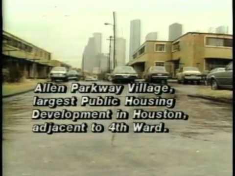 Houston Politicians Talk About Allen Parkway Village 1970s Youtube