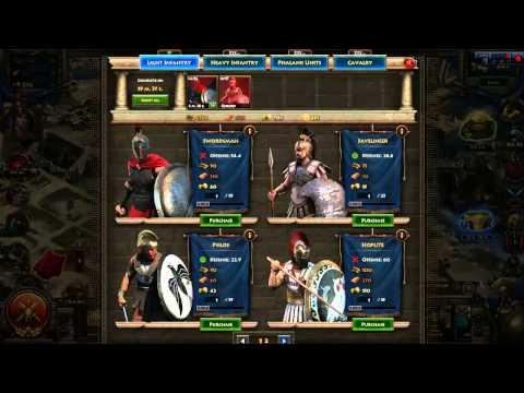 Darmowe Gry Online - Sparta War of Empires - gameplay - video recenzja PL HD