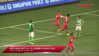 Great Eastern-Hyundai S.League: Geylang International FC vs Albirex Niigata FC (S) (17 Nov 2017)