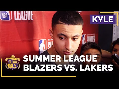 Kyle Kuzma After Winning NBA Summer League Finals MVP
