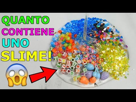 SLIME! QUANTI INGREDIENTI RIESCO A METTERE DENTRO? Iolanda Sweets