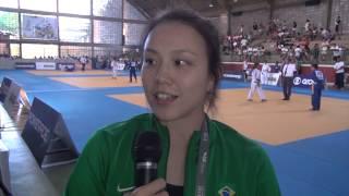 A japonesa Yuko Fujii, técnica da seleção brasileira de judô, nos Jogos Escolares!