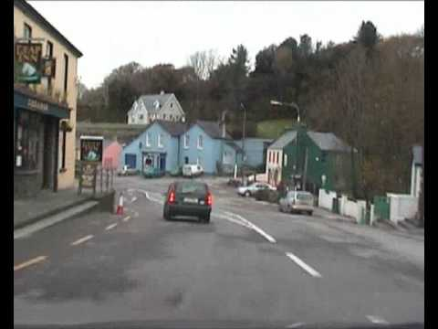 Road to Skibbereen Town in West Cork.