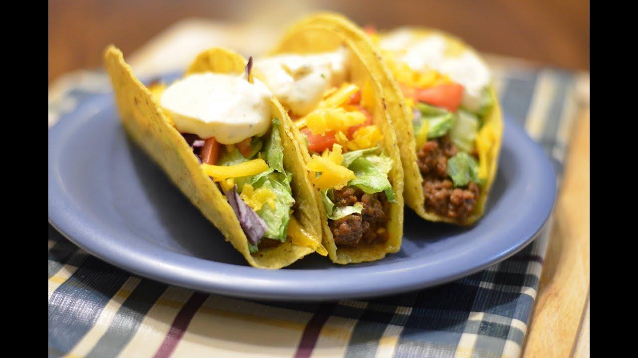 Tacos Sour cream seasoning Mix - Old El Paso - YouTube