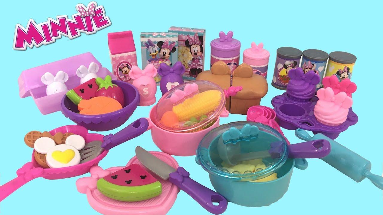 Minnie Bowtastic Kitchen Accessory Set Kids Station