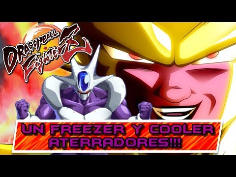 LOS HERMANOS DEL TERROR!! UN FREEZER Y COOLER BRUTALES!! Dragon Ball FighterZ: Online