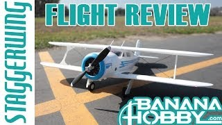 Beechcraft Staggerwing FMS | Flight Review | Biplane