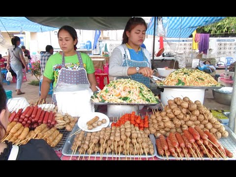 Street Food at Kampong Cham Province