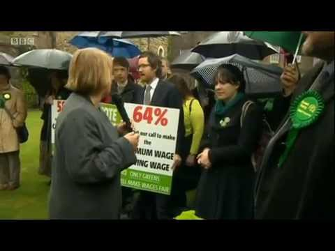 London Green Party Election launch - Report