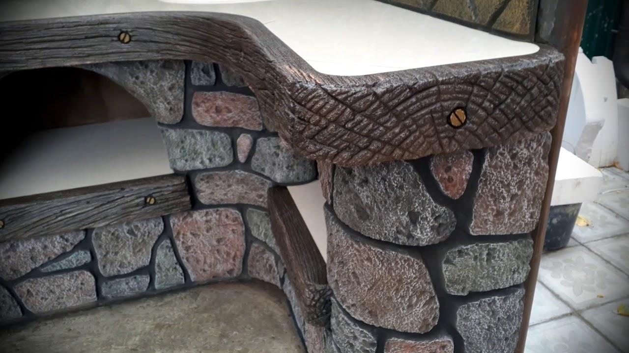 Мангал арт бетон стэлмас бетон