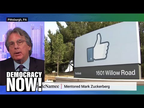 """Mark Zuckerberg's former mentor speaks out against Facebook: """"The law does not protect you"""""""