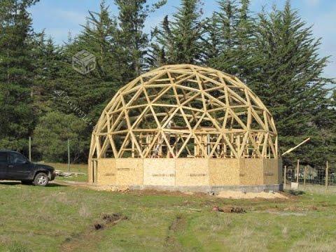 construir domo geodesico como hacer un domo geodesico domo