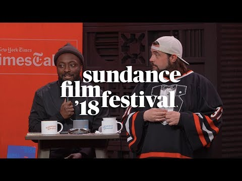 Cinema Cafe with will.i.am and Kevin Smith