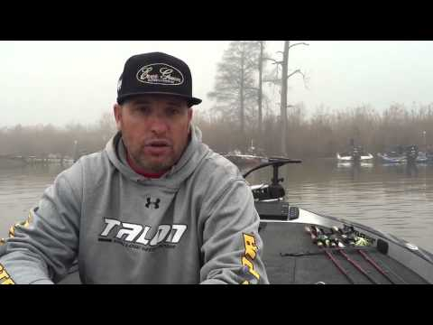 Brett Hite: Day 2 of the BASS Elite on the Sabine River