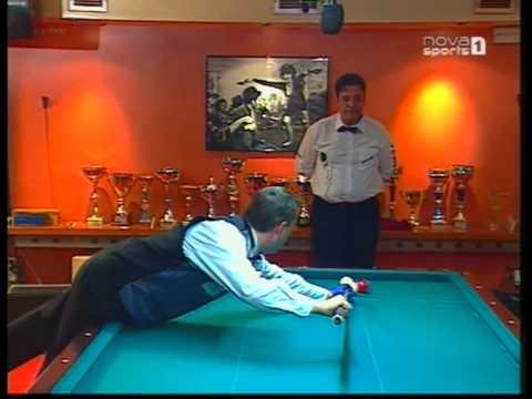 Cadre 47/2.Frederic Caudron vs Xavier Gretillat(Athens Barrage club-2009)