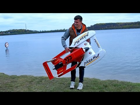 RC ELECTRIC SPEEDBOAT RACING-BOAT POWERBOOT VERY FAST