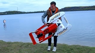 RC ELECTRIC SPEEDBOAT RACING-BOAT POWERBOOT AMAZING / Powerboat Meeting Edderitz 2016