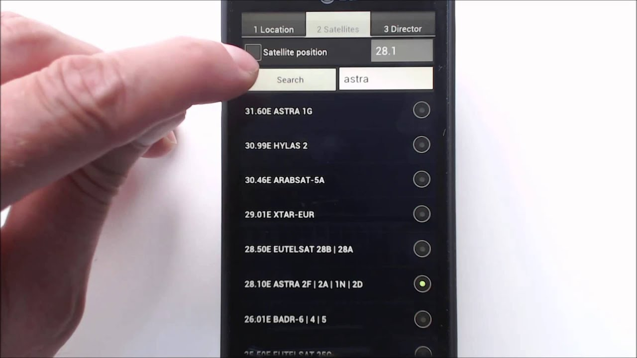 How do you use Satellite Director ?  #Smartphone #Android