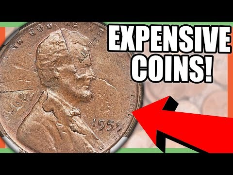 7 EXPENSIVE COINS TO LOOK FOR - RARE COINS THAT ARE WORTH MONEY
