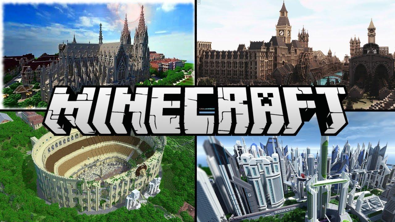 7 Coole Minecraft Bauwerke