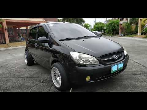 Hyundai Getz 1.1L 2010 Interior, Exterior And Engine PH. هيونداي جيتز٢٠١٠
