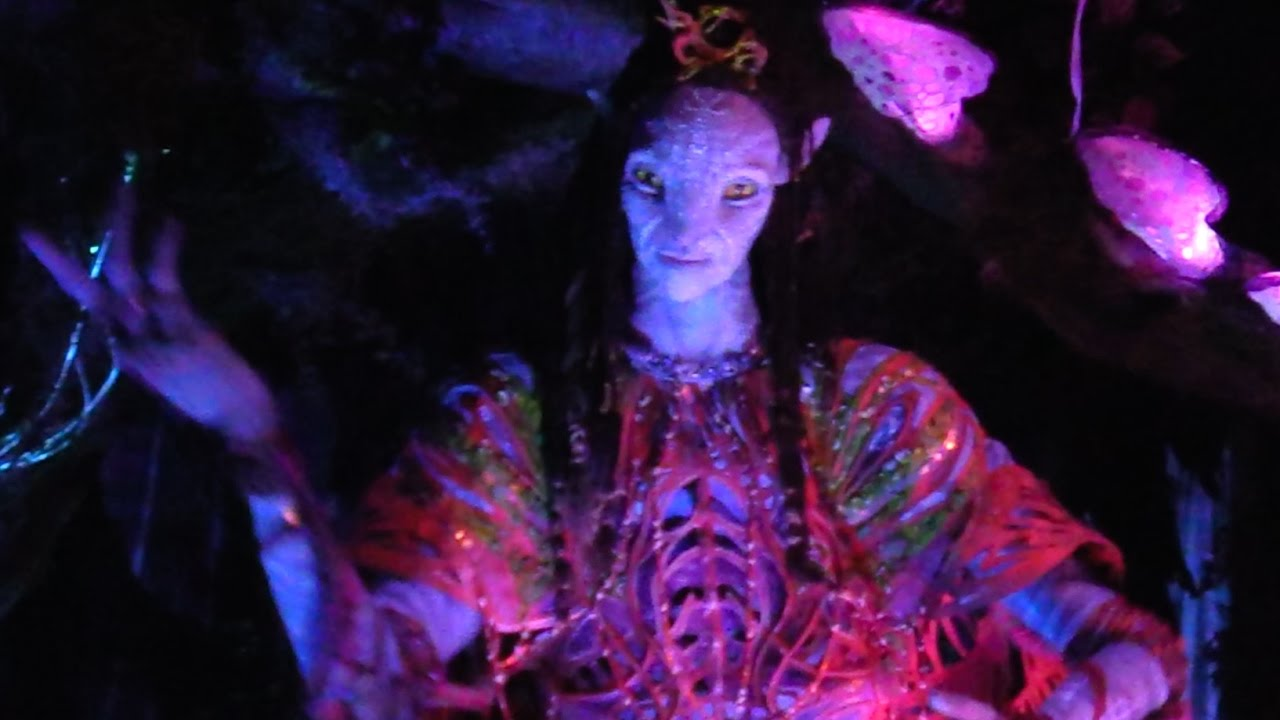 Amazing Shaman animatronic in Na'vi River Journey, Pandora - The World of Avatar, Walt Disney W