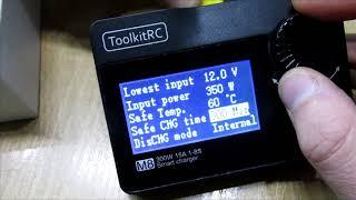 ToolkitRC M8 300W Charger - целый набор инструментов, обзор (rus)