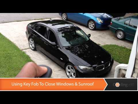 Activate Closing Windows & Sunroof With Your Key Fob - Coding E90
