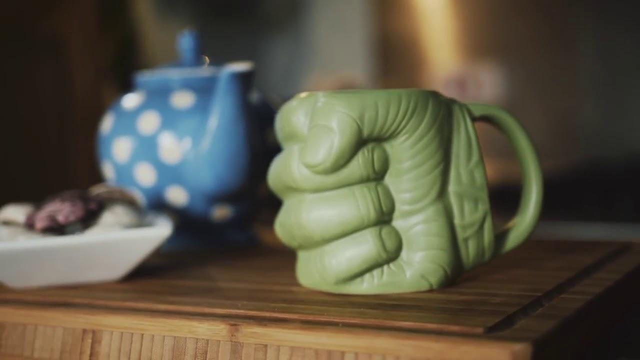 Výsledek obrázku pro fist hulk mug