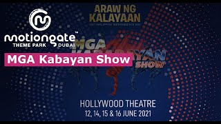 MGA Kabayan Show  - An Original Production by MOTIONGATE™ Dubai