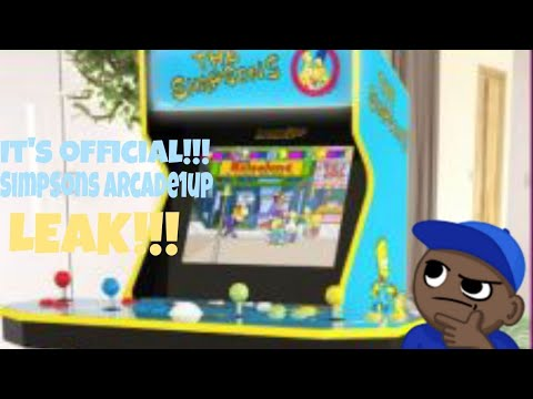 The Simpsons Arcade1up Leak CONFIRMED!!! It Looks AMAZING! Let's Talk About It... from MikeOfAllTrades