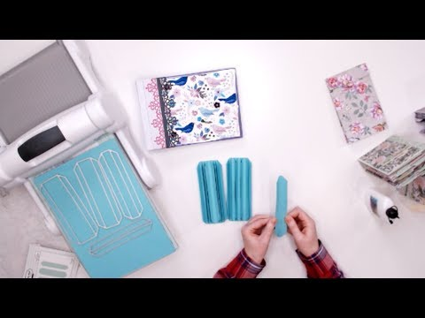 3 Fast Ways To Create Mini Albums With An Album Binding Die | Helen Griffin - Simply Made Crafts