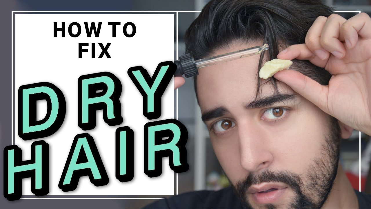 How To Fix Dry Damaged Hair Mens Hair Tips Hacks James Welsh