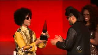 Prince presents at the American Music Awards (AMA) - 22nd November 2015