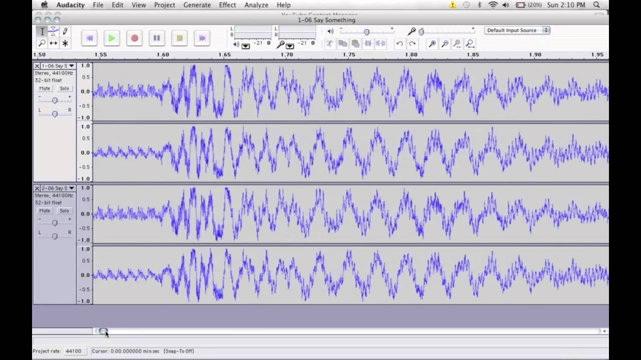 How to Extract Vocals Using Audacity - Isolate Vocals from Mp3 Songs