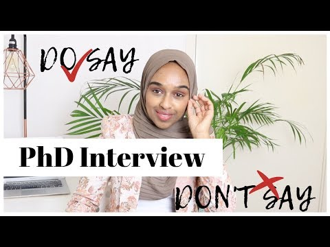 PhD INTERVIEW QUESTIONS & MODEL ANSWERS
