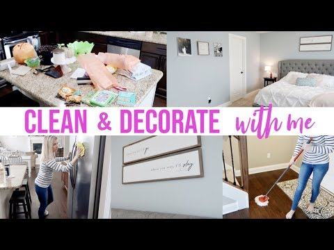 NEW! ULTIMATE CLEAN & DECORATE WITH ME 2019 | WHOLE HOUSE CLEANING MOTIVATION | JAMIE'S JOURNEY