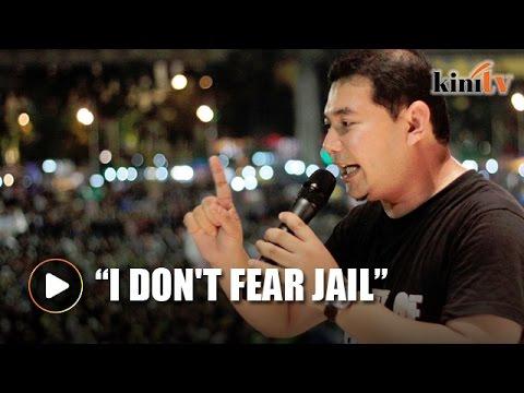 Rafizi: I don't fear jail
