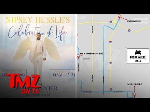 Nipsey Hussle Memorial To Be Held at L A 's Staples Center | TMZ TV