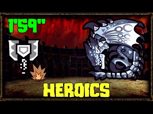 Silver Rathalos Solo Charge Blade 1 59 Heroics Mhw Iceborne Youtube