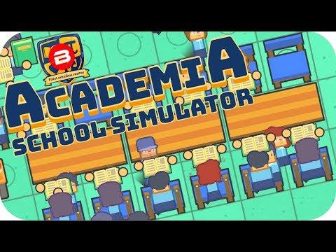 Academia - FINAL EXAM TIME!!! - Academia School Simulator Gameplay #5