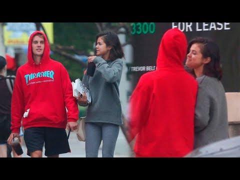 Selena Gomez y Justin Bieber Regresaron y Fueron Vistos en Los Angeles!