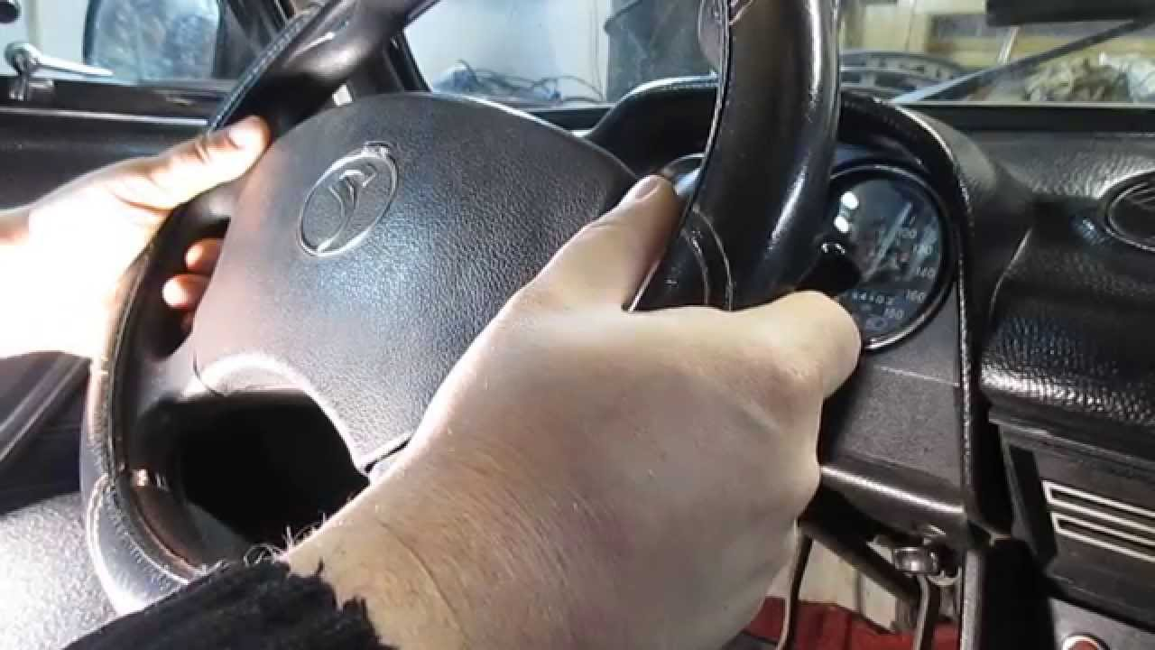nissan patrol причина люфта в руле