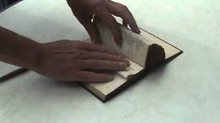 Bücherstütze selbstgemacht