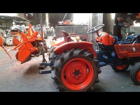 Farm Tractors With Rotovators Manila Philippines (Yanmar, Iseki, Hinomoto, Kubota, Mitsubishi)