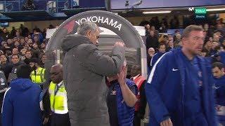 Antonio Conte avoids handshake with Mourinho (Chelsea 1 Man United 0)
