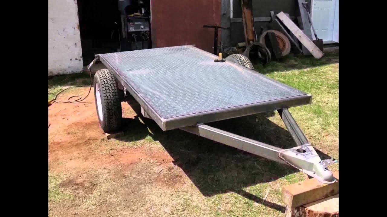 My Homemade utility trailer