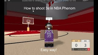 Comment tirer 3s ( Roblox NBA Phenom (en)